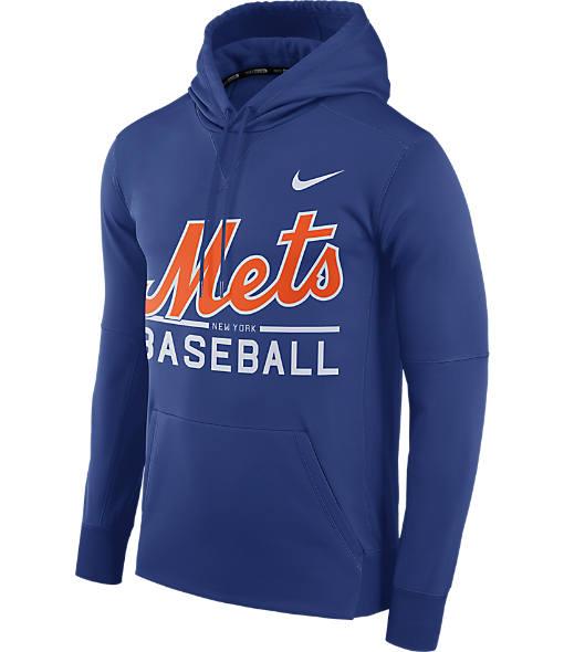 Men's Nike New York Mets MLB GM Therma Hoodie