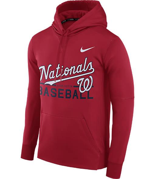 Men's Nike Washington Nationals MLB GM Therma Hoodie