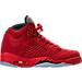 Right view of Boys' Grade School Air Jordan 5 Retro Basketball Shoes in University Red/Black/University Red