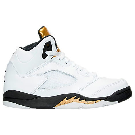 Boys' Preschool Jordan 5 Retro Basketball Shoes