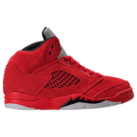 Boys' Preschool Jordan 5 Retro Basketball Shoes