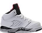 Boys' Toddler Air Jordan Retro 5 Basketball Shoes