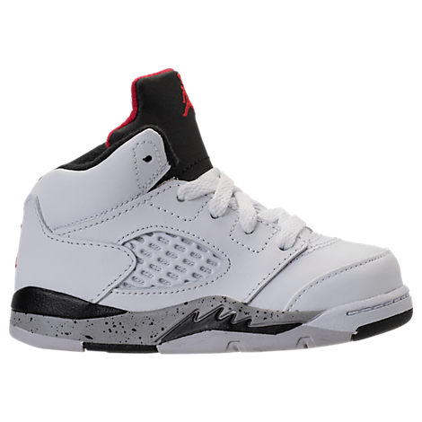 Boys' Toddler Jordan Retro 5 Basketball Shoes