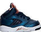 Boys' Toddler Jordan Retro 5 Basketball Shoes