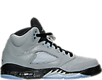 Girls' Grade School Air Jordan Retro 5 Basketball Shoes