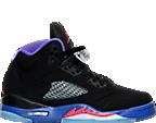 Girls' Grade School Air Jordan Retro 5 Basketball Shoes