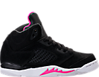 Girls' Preschool Jordan Retro 5 Basketball Shoes