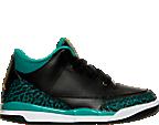 Girls' Preschool Air Jordan Retro 3 Basketball Shoes