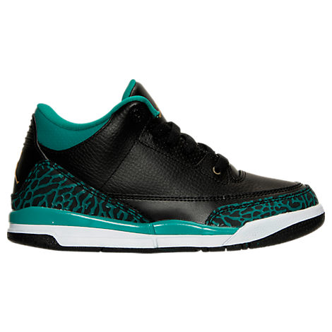 Girls' Preschool Jordan Retro 3 Basketball Shoes