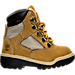 Right view of Boys' Toddler Timberland 6 Inch Field Boots in Wheat