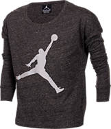 Girls' Jordan Reflect On This Long-Sleeve Shirt
