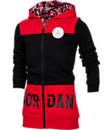 Girls' Jordan Tunic-Length Full-Zip Hoodie