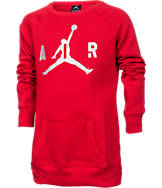 Girls' Jordan Big Air Crew Sweatshirt