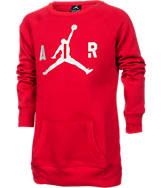 Girls' Jordan Big Air Crew Sweatshirt