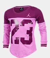 Girls' Jordan Big 23 Block T-Shirt