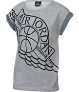 Girls' Jordan French Terry Top