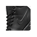 Front view of Men's Nike Manoa Leather Boots in Black/Black