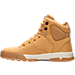 Left view of Men's Nike Air Nevist 6 Leather Boots in Haystack/Velvet Brown