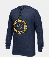 Men's adidas Cleveland Cavaliers NBA Hooded Henley Shirt