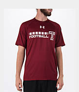 Men's Under Armour Temple Owls College Onfield Football T-Shirt