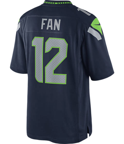 Men's Nike Seattle Seahawks NFL 12th Fan Limited Jersey