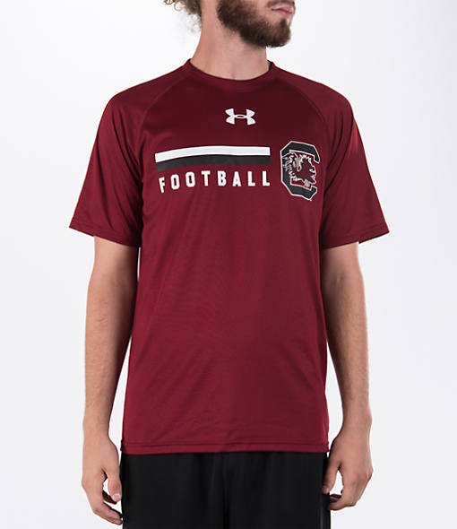 Men's Under Armour South Carolina Gamecocks College Onfield Football T-Shirt