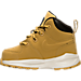 Left view of Boys' Toddler Nike Manoa Leather Boots in Wheat
