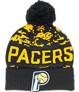 New Era Indiana Pacers NBA Winter Freeze Pom Cuffed Knit Hat