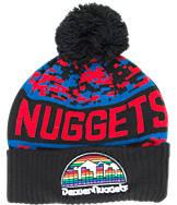 New Era Denver Nuggets NBA Winter Freeze Pom Cuffed Knit Hat