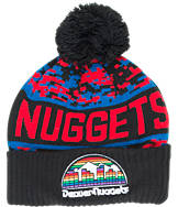 New Era Denver Nuggets NBA Winter Freeze Pom Cuffed Knit Hat