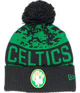 New Era Boston Celtics NBA Winter Freeze Pom Cuffed Knit Hat