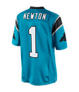 Men's Nike Carolina Panthers NFL Cam Newton Limited Alternate Jersey