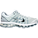 Right view of Men's Nike Air Max+ 2009 Running Shoes in White/Black