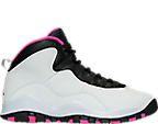 Girls' Grade School Air Jordan Retro 10 (3.5y - 9.5y) Basketball Shoes