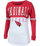 Women's New Era Arizona Cardinals NFL Spirit Long-Sleeve Shirt