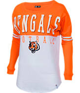 Women's New Era Cincinnati Bengals NFL Spirit Long-Sleeve Shirt