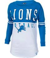 Women's New Era Detroit Lions NFL Spirit Long-Sleeve Shirt