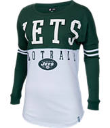 Women's New Era New York Jets NFL Spirit Long-Sleeve Shirt