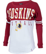 Women's New Era Washington Redskins NFL Spirit Long-Sleeve Shirt