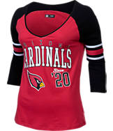 Women's New Era Arizona Cardinals NFL 3/4 Baby Raglan Jersey Jersey