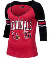 Women's New Era Arizona Cardinals NFL 3/4 Baby Raglan Jersey Jersey