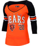 Women's New Era Chicago Bears NFL 3/4 Baby Raglan Jersey T-Shirt