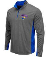Men's Stadium Kansas Jayhawks College Ridge 1/4-Zip Shirt