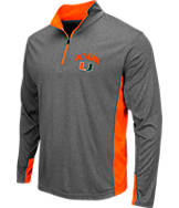 Men's Stadium Miami Hurricanes College Ridge 1/4-Zip Shirt