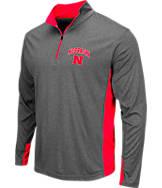 Men's Stadium Nebraska Cornhuskers College Ridge 1/4-Zip Shirt