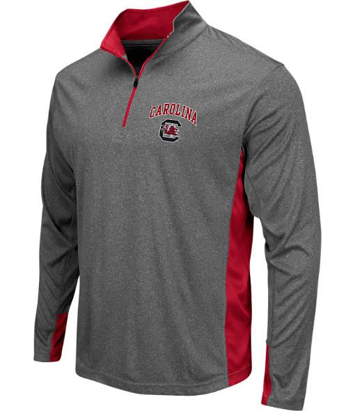 Men's Stadium South Carolina Gamecocks College Ridge 1/4-Zip Shirt