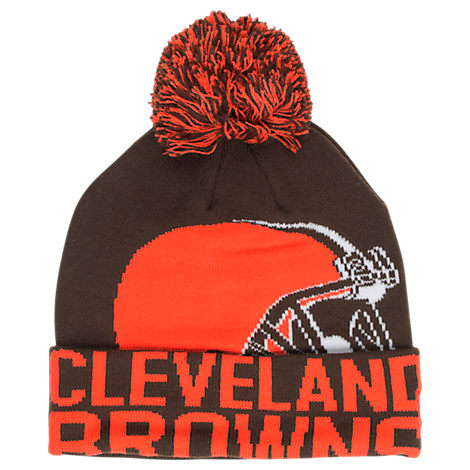 New Era Cleveland Browns NFL Colossal Team Knit Hat