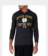 Men's Under Armour Notre Dame Fighting Irish College TriBlend Hooded T-Shirt