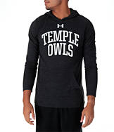Men's Under Armour Temple Owls College TriBlend Hooded T-Shirt