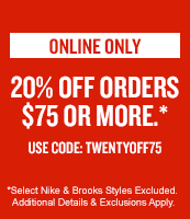 20% Off Order $75 or More